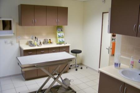 Salle de consulation docteur Amouroux